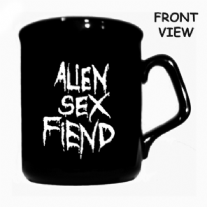 Alien Sex Fiend Logo Coffee and Tea Mug (double sided) - Blue Crumb Truck